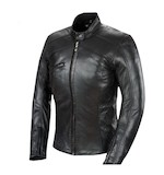 Power Trip Women's Scarlet Leather Jacket