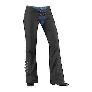 Icon Women's Hella Leather Chaps (Size XL Only)