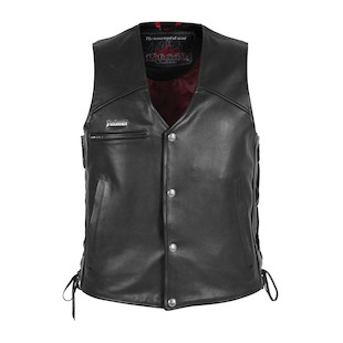 Pokerun Cutlass 2.0 Leather Vest [Size MD Only]