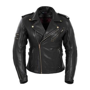 Pokerun Women's Marylin Leather Jacket