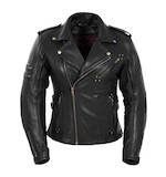 Pokerun Women's Marylin Leather Jacket