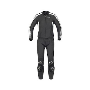 Alpinestars Women's Stella Monza 2-Piece Leather Suit