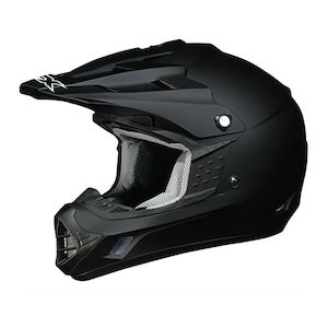 Dirt Bike Helmet With Visor >> Afx Fx 17 Helmet Revzilla