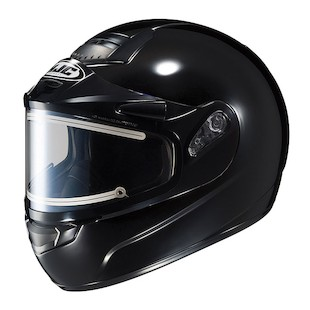 HJC CS-R1 SN Solid Snow Helmet with Electric Shield