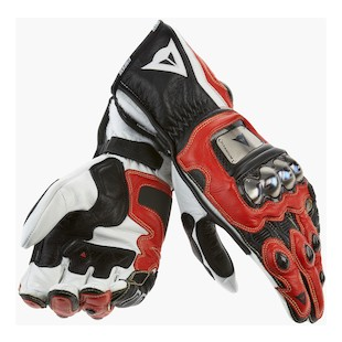 Dainese Full Metal Pro Gloves - Red/Black Closeout