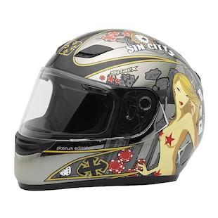 SparX S-07 LE Platinum Helmet