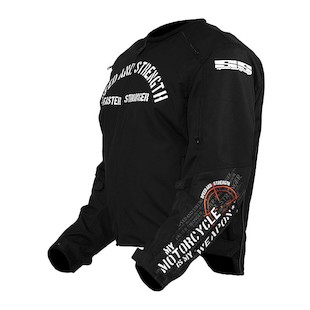 Speed and Strength My Motorcycle Is My Weapon Jacket