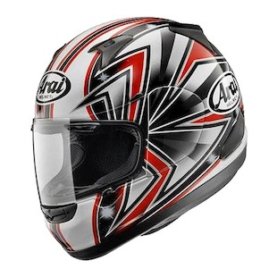 Arai RX-Q Talon Helmet (Red / 2XL)