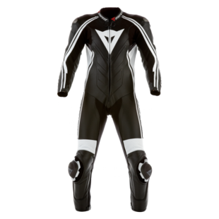 Dainese Stripes Perforated Leather Race Suit