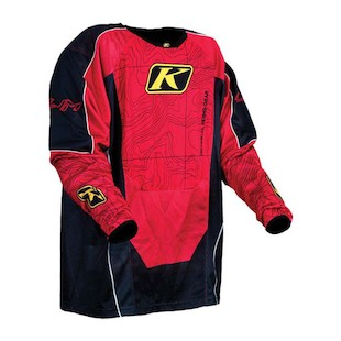 Klim Mojave Jersey (Color: Red / Size: SM)