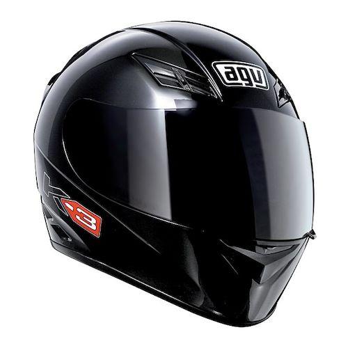 agv k3 helmet solid revzilla. Black Bedroom Furniture Sets. Home Design Ideas