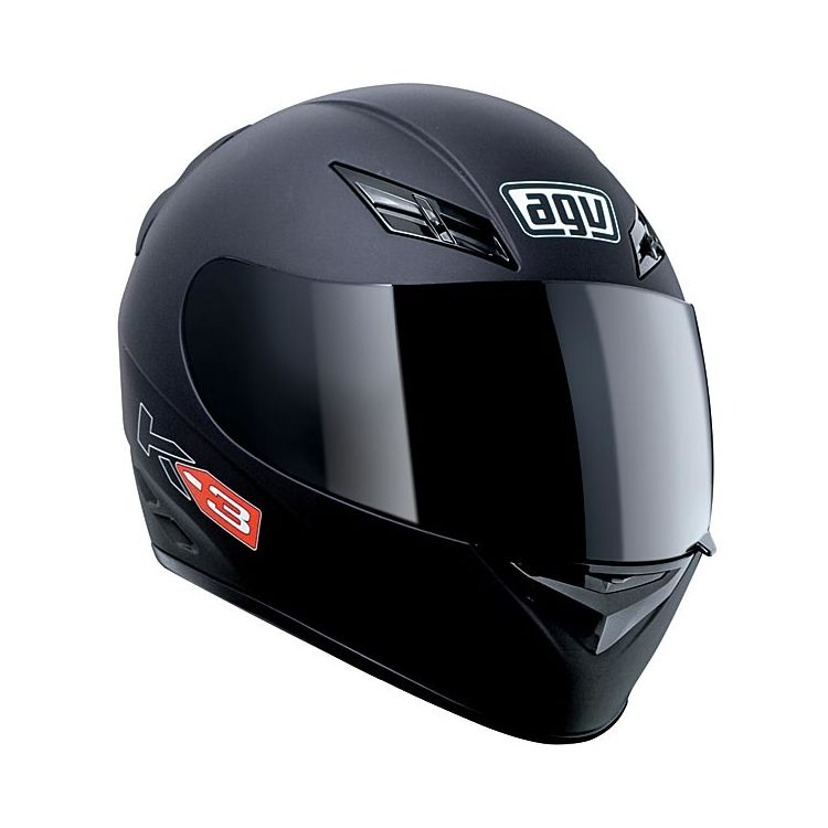 agv k3 helmet solid size xs only 20 off revzilla. Black Bedroom Furniture Sets. Home Design Ideas