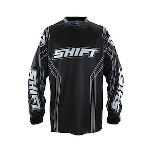 Shift Assault Jersey (Color: Black / Size: 2XL)