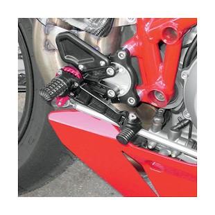 CRG SSR Rearset Kawasaki ZX6R 2007