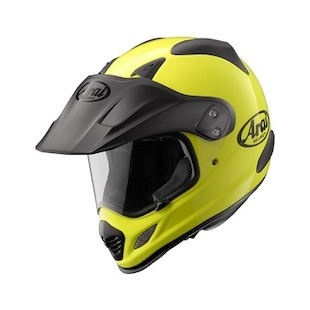 Arai XD-3 Hi-Viz Neon Helmet