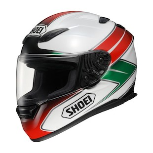 Shoei RF-1100 Enigma Helmet (White/Red/Green only)