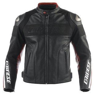 Dainese Alien Non-Perforated Leather Jacket