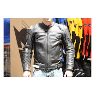 Dainese Rebel Non-Perforated Leather Jacket