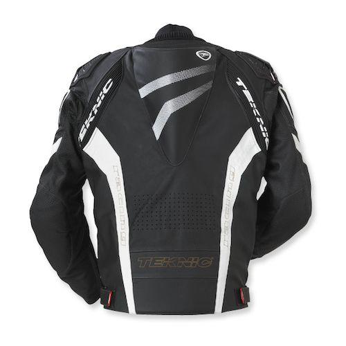 Teknic leather motorcycle jacket