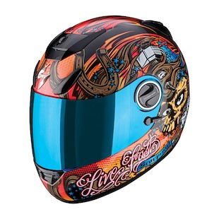 Scorpion EXO-750 Live Fast Helmet