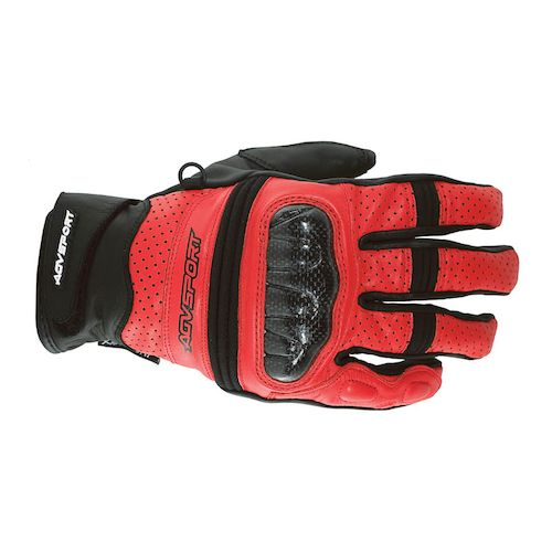 Agv Sport Gallant Gloves: Red