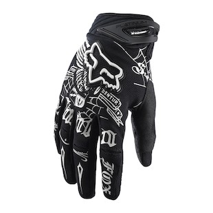 Fox Racing Platinum Steel Faith Gloves (2XL only)