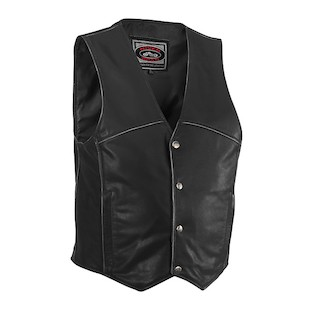 River Road Rambler Leather Vest (40 Only)