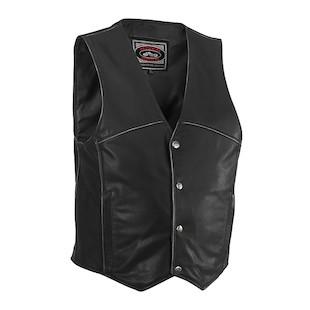 River Road Rambler Leather Vest (40 Only)