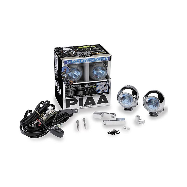 PIAA 1100X Triad Multi-Fit Light Kit With Brackets - Various Makes