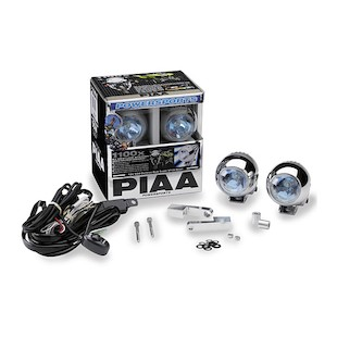PIAA 1100X Triad Multi-Fit Light Kit With Brackets - BMW / Yamaha