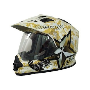 AFX FX-39 Dual Sport Camo Helmet