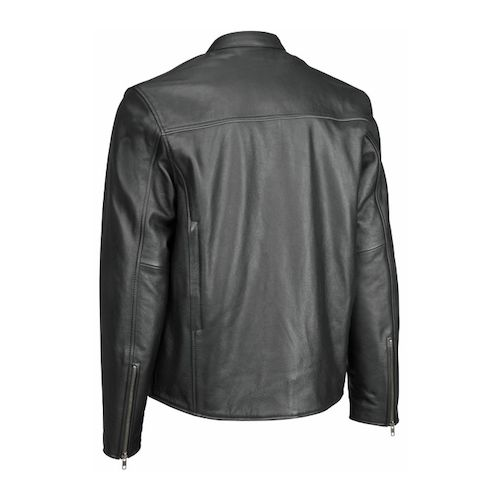 River Road Seneca Cool Leather Jacket (Size 48 Only) - Black