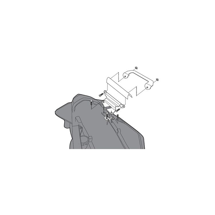 Givi 267KIT Brackets For Side Case Racks Honda VFR1200F 2010-2013