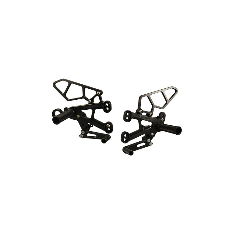 Woodcraft Rearset Kit BMW S1000RR 2010-2014
