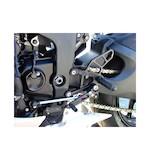 Woodcraft Complete Rearset Kit Kawasaki Ninja ZX6R 2009-2012