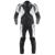 Dainese Rebel Leather Jacket - Black/White/Dark Grey