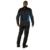 Dainese Air-Frame Textile Jacket - Black/Princess Blue