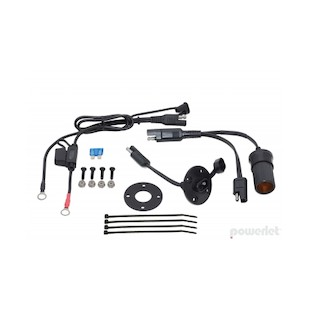 Powerlet Basic Luggage Electrix Tankbag Saddlebag Power Kit