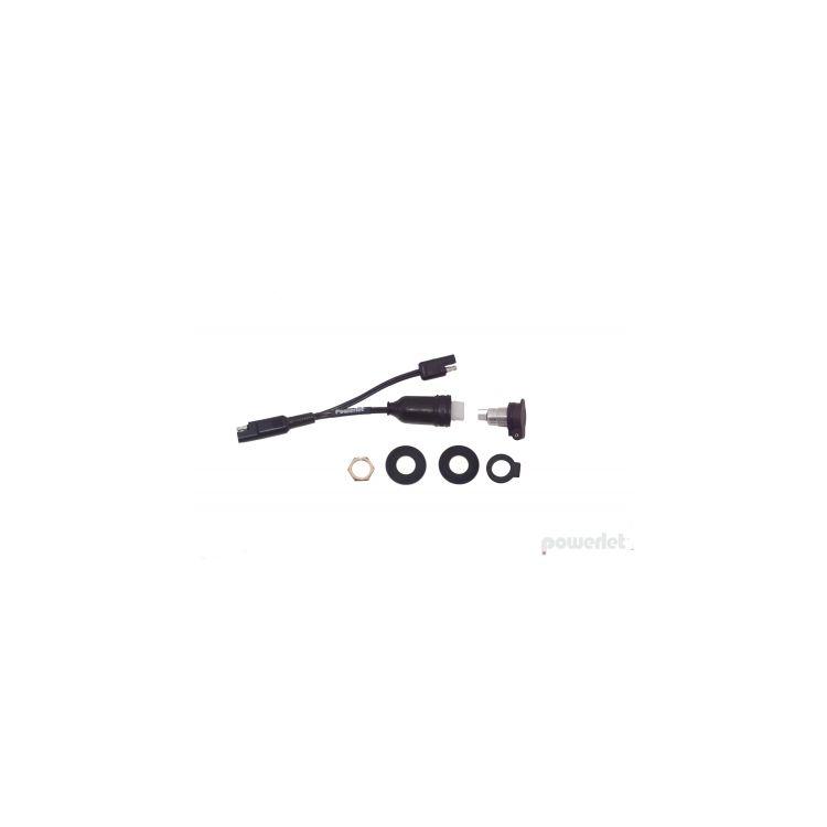 Powerlet Luggage Electrix Tankbag & Saddlebag Powerlet Socket
