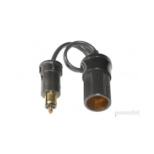 Powerlet To Cigarette Socket Cable