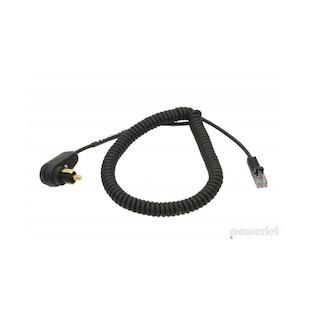 Powerlet Escort, Bell RX65, Valentine 1 Standard Powerlet Cable