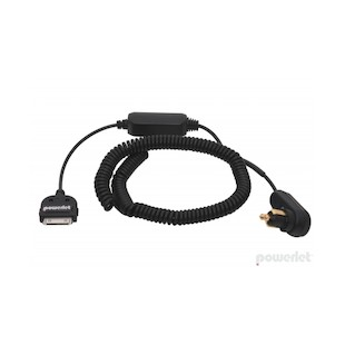 Powerlet Apple 2G and All Previous iPod 36 Inch Coiled Charging Cable