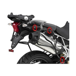 Givi PLR6401 Rapid Release Side Case Racks Triumph Tiger 800 / XC 2011-2014