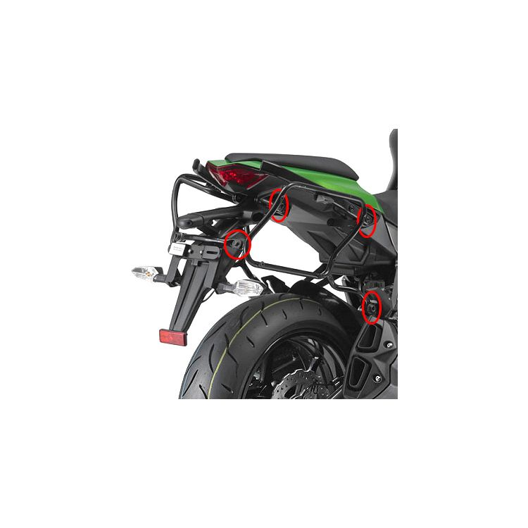 Givi PLXR4100 Rapid Release V35 / V37 Side Case Racks Kawasaki Ninja 1000 2011-2018