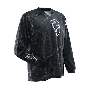 Thor Static Jersey (Color: Black / Size: 2XL)