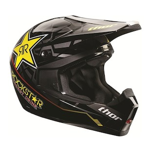 Thor Youth Quadrant Rockstar Helmet 2012
