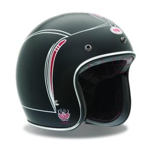 Bell Custom 500 Skratch Matte Pin Stripe Helmet