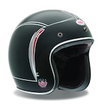 Bell Custom 500 Skratch Matte Pin Stripe Helmet