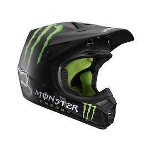 Fox Racing V3 RC Monster Helmet