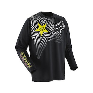 Fox Racing Nomad Rockstar Jersey Black